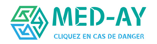 Med-ay - Cliquez en cas de danger